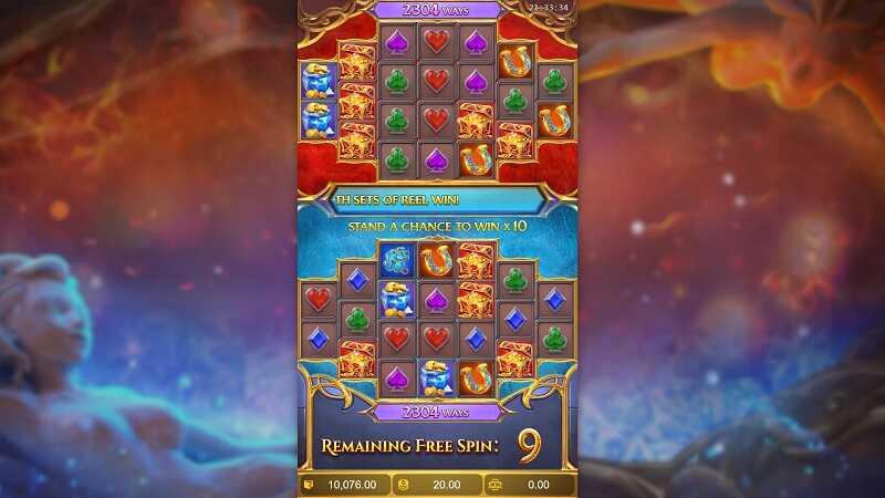 เกมสล็อตออนไลน์ Guardians of Ice & Fire